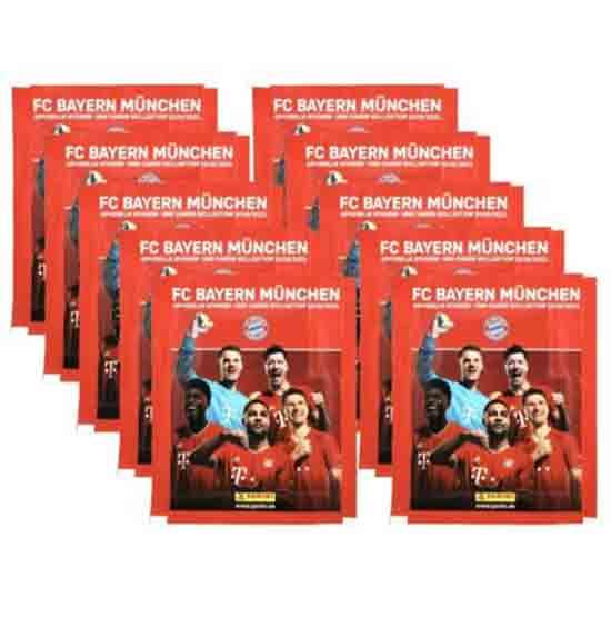 Panini BAYERN MÜNCHEN Sticker 10 Stickertüten
