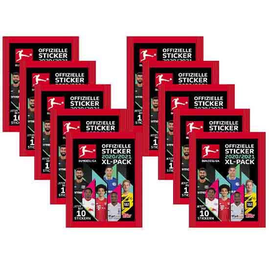 Topps Bundesliga Sticker10 Tüten