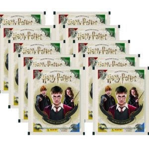 Panini Harry Potter Sticker 10 Stickertüten
