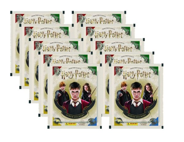 Panini Harry Potter Sticker 10 Stickertüten