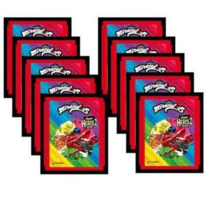 Panini Miraculous Ladybug Sticker 10 Stickertüten