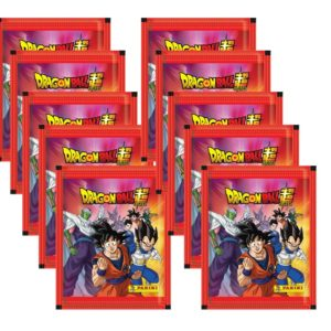 Panini Dragon Ball Sticker 10x Stickertüten