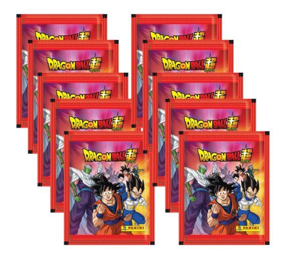 Panini Dragon Ball Sticker 10x Stickertüten