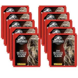 Panini Jurassic World Sticker 10 Stickertüten