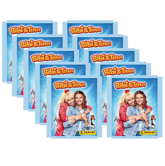 Panini Bibi und Tina Sticker 10 Stickertüten