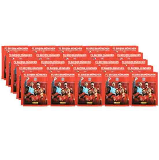 Panini Bayern München Sticker 25 Stickertüten