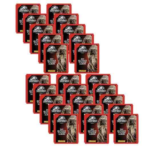 Panini Jurassic World Sticker 25 Stickertüten