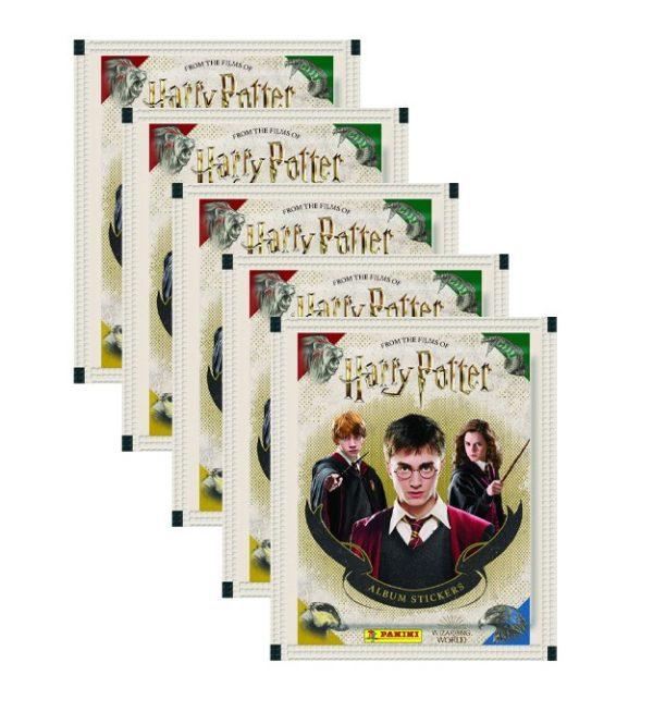 Panini Harry Potter Sticker 5 Stickertüten