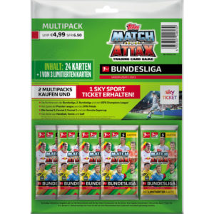 Topps Match Attax Multipack