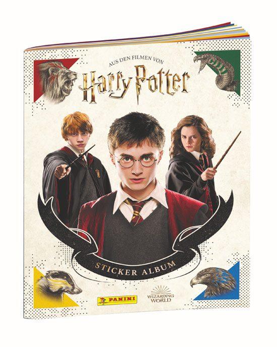 Panini Harry Potter Sticker Sammelalbum