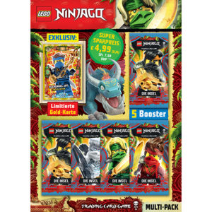 Lego Ninjago Trading Card Multipack LE15