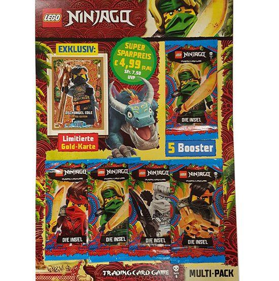 Lego Ninjago Trading Card Multipack LE6