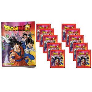 Panini Dragon Ball Sticker Leeralbum +10 Stickertüten