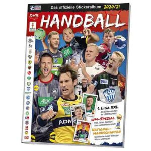 Blue Ocean Handball Sticker Sammelalbum