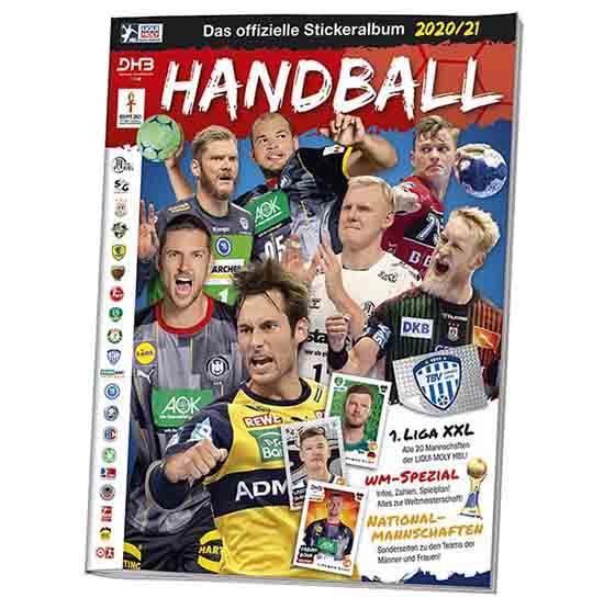 Blue Ocean Handball Sticker Sammelalbum