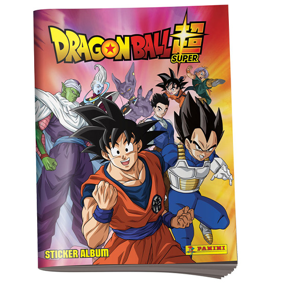 Panini Dragon Ball Sticker Super Sammelalbum