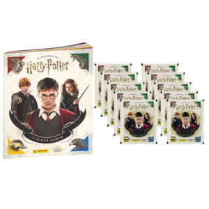 Panini Harry Potter Sticker Sammelabum + 10 Stickertüten