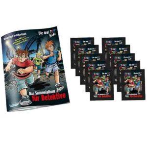 Blue Blue Ocean Die Drei Fragezeichen Sticker 3 ??? - 1x Sammelalbum +10 Stickertüten