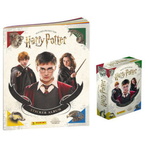 Panini Harry Potter Sticker Sammelalbum + Display