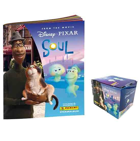 Panini Soul Sticker Album + Display