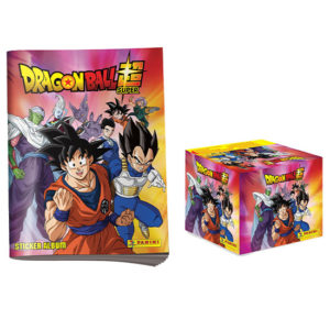 Panini Dragon Ball Sticker Leeralbum + Display