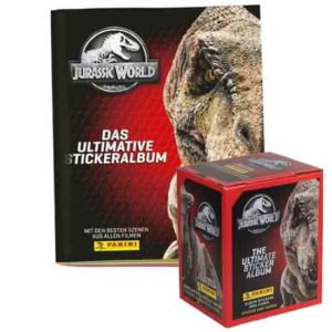 Panini Jurassic World Sticker Album + Display