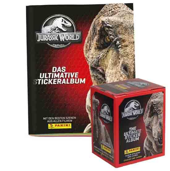 Panini Jurassic World Sticker Album + Display