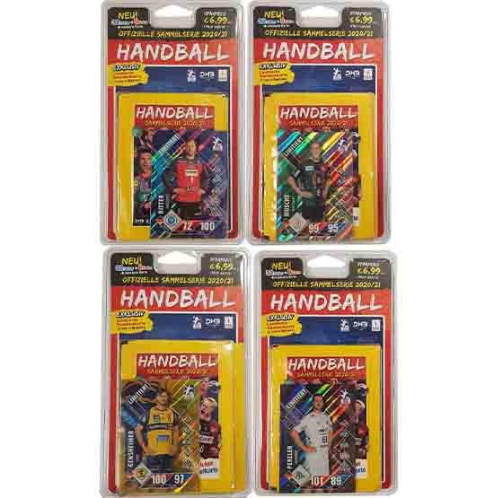 Blue Ocean Handball Sticker alle 4 Blister