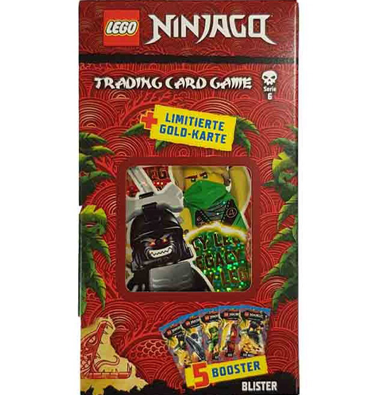 "Lego Ninjago Serie 6 ""Die Insel"" Trading Card Game Blister LE25"