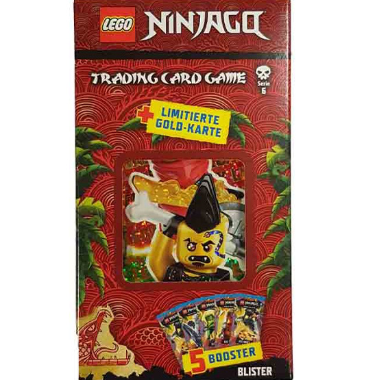 """Lego Ninjago Serie 6 """"Die Insel"""" Trading Card Game Blister mit LE26"""