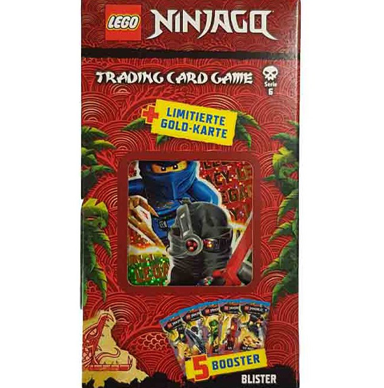 """Lego Ninjago Serie 6 """"Die Insel"""" Trading Card Game Blister mit LE27"""