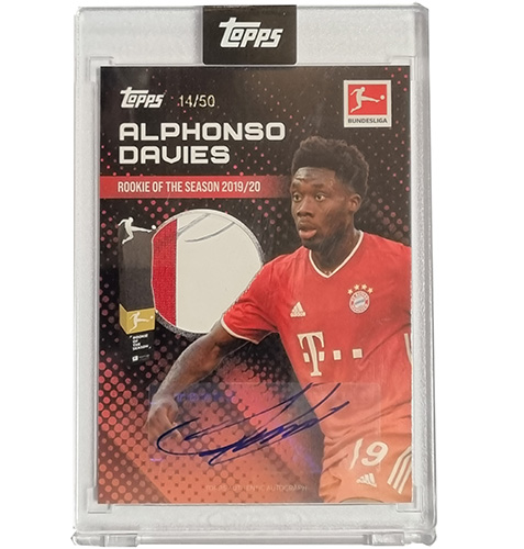 Topps Alphonso Davies Rookie of the Year 14