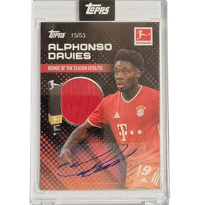 Topps Alphonso Davies Rookie of the Year 15
