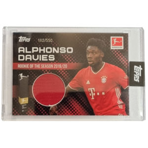 Topps Alphonso Davies Rookie of the Year Trikot 182