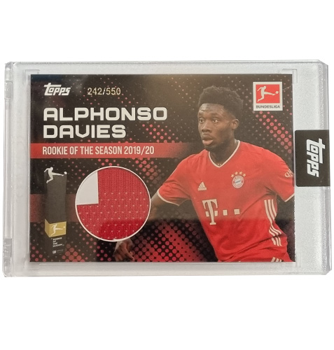 Topps Alphonso Davies Rookie of the Year Trikot 242