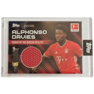 Topps Alphonso Davies Rookie of the Year Trikot 47