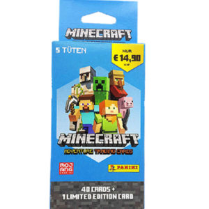 Panini Minecraft Adventure Trading Card Mega - 1x Blister
