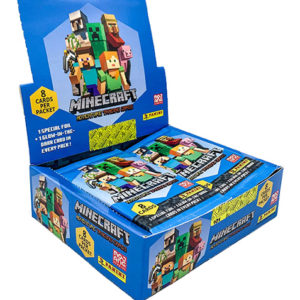 Panini Minecraft Adventure Trading Card Game Display