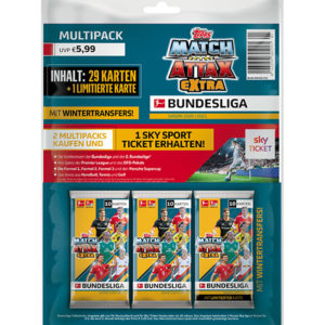Topps Match Attax Extra 2020/21 Multipack