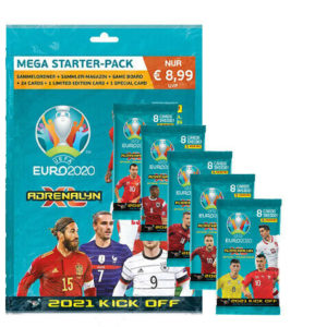 Panini Euro 2020 Starter-Pack + 5 Booster
