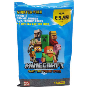 Panini Minecraft Adventure Trading Card - Starterpack