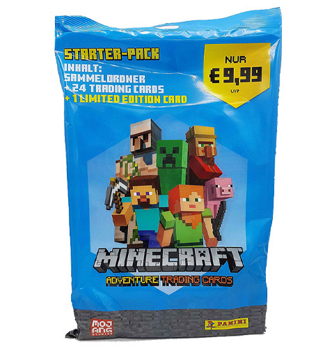 Panini Minecraft Adventure Trading Card - Starterpack