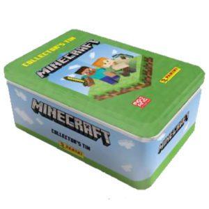 Panini Minecraft Adventure Trading Card Game 1 x Classic Tin