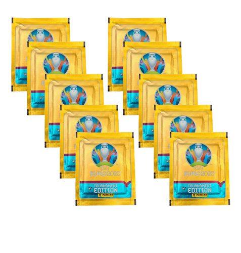 Panini EURO 2020 Sticker Tournament Edition - 10 Stickertüten