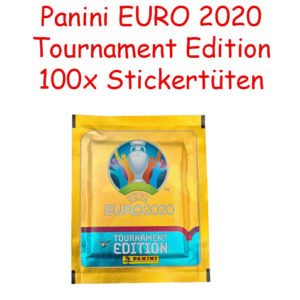 Panini EURO 2020 Tournament Edition Sticker - 100 Stickertüten