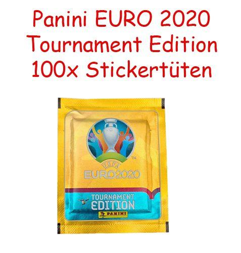 Panini EURO 2020 Tournament Edition Sticker - 100 Stickertüten