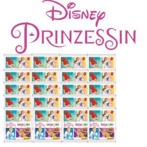 Panini Disney Prinzessin Sticker Glaube an Dich - 20x Stickertüten