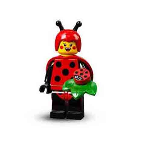 Lego Minifiguren Serie 71029 - Marienkäfer Kostüm