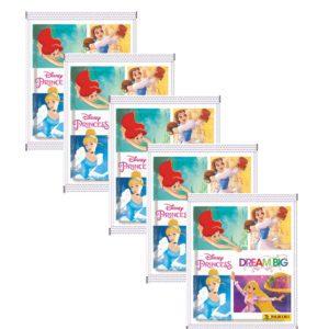 Panini Disney Prinzessin Sticker Glaube an Dich - 5x Stickertüten