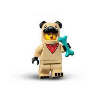 Lego Minifiguren Serie 71029 - Mops Kostüm